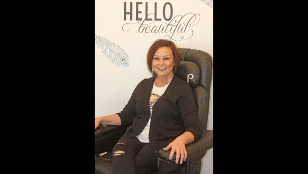 Heather Olney is the owner/operator of The Nail Bar salon in Philip.