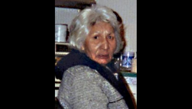 "Margaret Long Soldier Thorson ""Ite' Waste Wi"", age 79"