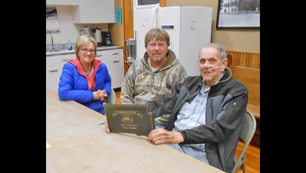 Town of Quinn board members Patty Coleman, Gary Vernon and Don Kelly.