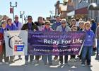 ​Though the rest of the annual event had to be moved indoors because of cold and windy weather, the starting off of the five kilometer walk was still led by many of the attending cancer survivors.