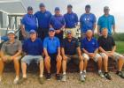 Pictured back row left to right is Larry Ball, Tyler Rankin, Bruce Venard, Andy Rankin, Seth Geigle, Denny Moore. Front Row left to right is Justice Morrison, Doug LaHaye, Tom Cameron, Chris Iversen, Steve Reed and Josh Krogman.