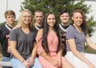 Meet the 2017 Philip High School Homecoming royalty. Back row, from left, are king candidates Dawson Reedy, Lane Kroetch and Trew DeJong. Front: queen candidates Bobbi Antonsen, Mikayla Addison and Kendal Hook.