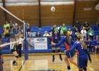 The Jones County Coyotes took on the Colome Cowgirls for a Gold Out Night home matchup on Thursday, September 7. Junior varsity won (19-25) (25-21) (15-10). Lilli Moore had 17 made serves and five digs, Taylor Feddersen had four kills and five digs and Madelyn Host had  seven out of eight good serve receives.